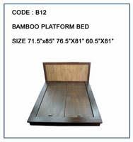 Bamboo Platform Bed Rattan Platform Bed Id 2539673 Product Details View Rattan