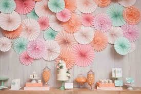decoration decorated fan backdrop how to make decorations how diy paper fan decorations to make paper