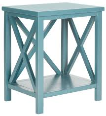 teal accent table amh6523f accent tables storage furniture furniture by safavieh