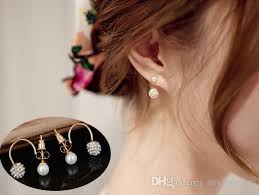 top earing new arrival 2014 hot selling fashion noble earring top quality