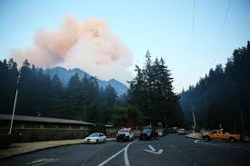 Wildfire Columbia Gorge Oregon by Dozens Of Oregon Hikers Rescued Amid Wildfires New York Ny