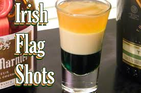 irish flag shots st patrick u0027s day drinks thefndc com youtube
