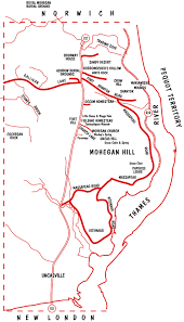 Mohegan Sun Map Important Tribal Sites Preservation Projects The Mohegan Tribe