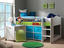 Schreibtisch 90 Vipack Lphs9054 Halbhohes Bett Lollipop Mit Schreibtisch Und Regal