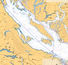 Desolation Sound Map The Delta 70 Sea Lion Is For Sale Nanaimo To Campbell River