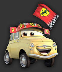 cars characters yellow luigi from cars for riley pinterest luigi cars and fiat