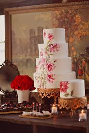 Hand Painted Wedding Cake Elizabeth Anne Designs The Wedding Blog