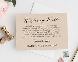donation wedding registry wedding registry card template printable registry card