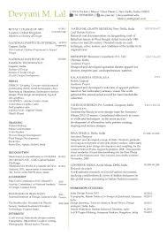 Resume Sle India Pdf fashion stylist and designer resume sles sle template format