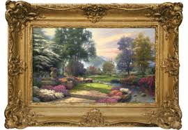 home interiors thomas kinkade prints why thomas kinkade u0027s art touched so many pacific standard