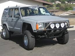 jeep xj stock bumper fiberglass in stock and starting at 350 a set