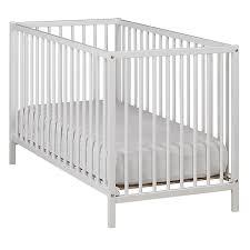 le pour chambre bébé lit bébé à barreaux blanc 60x120cm camille chambre meubles