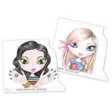 fashion angels makeup and hair design sketch portfolio toys