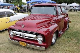 Ford Vintage Trucks - this 1956 ford f 100 custom cab defines vintage style rod authority