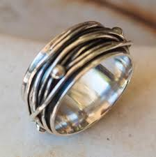 mens rings silver images Sterling silver ring mens ring thumb ring sterling silver wide jpg