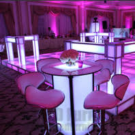 table rentals nyc led cocktail table rental nyc nj ct and island ny led