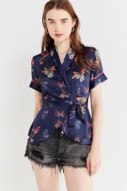 wrap blouses wrap tops shirts blouses for outfitters