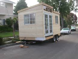building a cabin on wheels step by step mini cabins mesas and