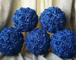 blue centerpieces blue centerpiece etsy