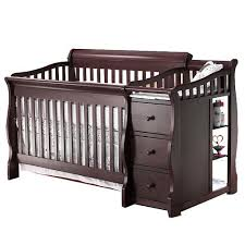 Convertible Cribs Babies R Us Sorelle Princeton 4 In 1 Convertible Crib Changer Espresso C