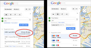 Google Maps And Directions Tries New Approach With Real Time Traffic Estimates For Google Maps