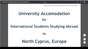 cyprus international university accommodation fees youtube