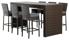 Dining Room Bar Table by Dining Room Impressive Renava Genua Outdoor Bar Table Set Modern