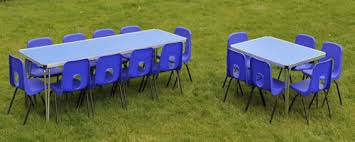 rental of tables and chairs for events children s party table sizes rates party table and chair