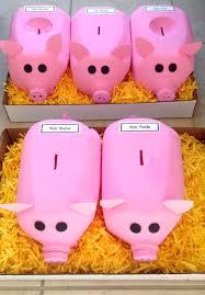 halloween milk jug crafts five perfect little piggies for a quarter war contest for
