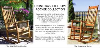 Best Backyards In The World Outdoor Rocking Chairs The World U0027s Finest Rocking Chair