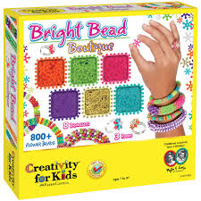 creativity for kids bright bead boutique kit hobbycraft