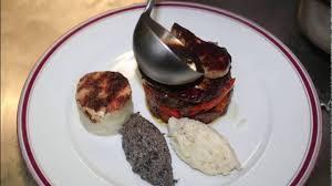 cuisine joue de boeuf présentation joue de boeuf du restaurant cyprien à marseille
