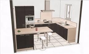 amenager cuisine 6m2 beautiful plan amenagement cuisine 10m2 8 cuisine design