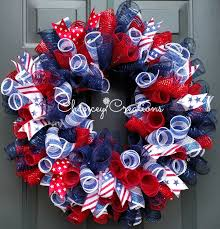 4th of july wreaths 4th of july wreath fourth of july wreath summer wreath fourth