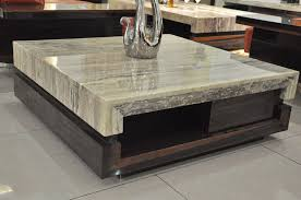 square stone coffee table top amazing coffee table with stone top for household prepare