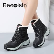 womens boots for winter 2017 recoisin fashion boots 2017 brand waterproof shoes