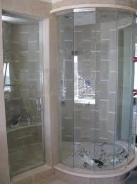 beautiful bathroom frameless glass shower doors the semi frameless