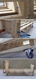 chambre bébé fabrication lit enfant en palette esprit cabane idees creatives et ecologiques