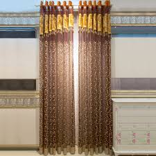 Fancy Kitchen Curtains by Deluxe Ready Made Sheer Curtains Will Show Room In Fancy Way