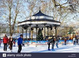 skating rink part of the winter hyde park uk