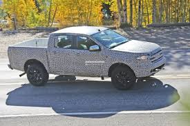 ranger ford 2019 spyshots 2019 ford ranger pickup u s spec poses with the hood