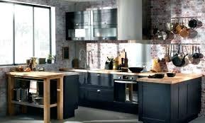 cuisine sale cuisine style industriel bois cuisine industrielle maison margiela