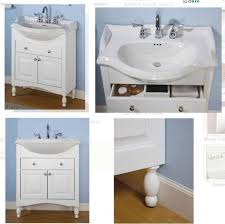 Vanity Ideas For Small Bathrooms Gorgeous Bathroom Double Vanity Shop Narrow Depth Regarding