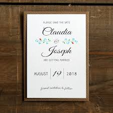 create your own save the date vintage heart save the date card or magnet by feel wedding