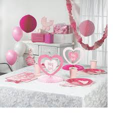 new girls princess room decorating kit polka dot birthday party