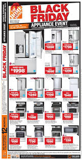 home depot refrigerator black friday home depot black friday canada 2014 flyer sales and deals u203a black
