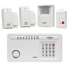 skylink wireless security system alarm kit sc 100 security system