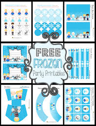 disney u0027s frozen party printables free
