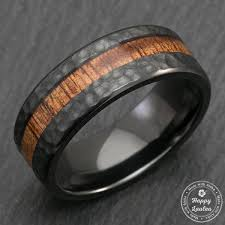 black titanium rings titanium unique wedding rings handmade wedding rings