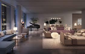 Concrete Loft Penthouse In Aby Rosen U0027s Midtown New York Project Seeks 65